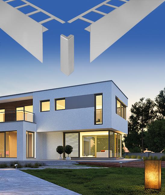 Durabal BO Formschöne Terrassen-Begrenzungswinkel